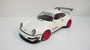 1:18 GT SPIRIT PORSCHE 911 964 RWB WHITE GT732 RESIN CARS