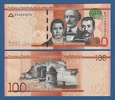 DOMINICAN REPUBLIC -- 100 PESOS DOMINICANOS ( 2014 ) -- UNC -- BX -- PICK 190a .