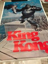 New listing King Kong the Movie 1976 Promotional Poster Vintage Original Not Reprinted ��