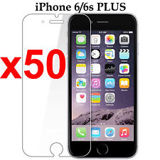 x50 Anti-scratch 4H PET film screen protector Apple iphone 6 6s PLUS front