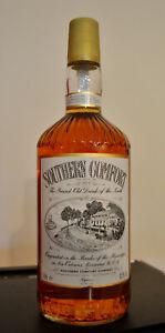 Southern Comfort 43 % Vol. 1 Liter 90er Jahre Dublin Irland ungeöffnet
