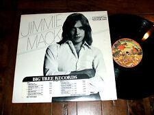 Jimmie Mack - Jimmie Mack Self Titled 1978 Promo LP DJ Big Tree Records NM-/VG+