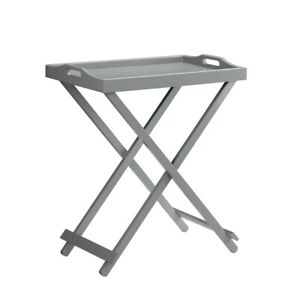 Convenience Concepts Designs2Go Tray Table, Gray - 239900GY