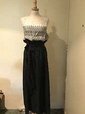Missoni x Target Australia sz 8 AU Halter Dress Black White New with tags silk