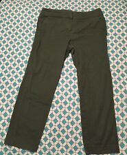 Women's NEW DIRECTIONS Casual Olive Green Pants 12