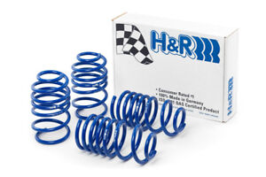 H&R Super Sport Suspension Lowering Springs for Ford Mustang V6 V8 11-14 New