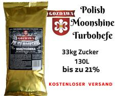 Gozdawa MOONSHINE 130L Turbohefe turbo yeast Alkohol Brennhefe Gärhefe 450g