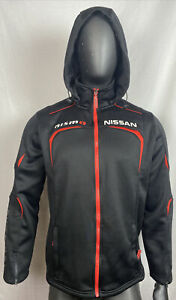 Nissan Nismo Racing Jacket With Removable Hood Size L In Good Condition F306