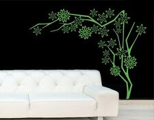 Abstract Flower Tree - Highest Quality Wall Decal Sticker