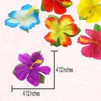 Hibiscus Flower Leaves Luau Hawaiian TROPICAL Island Theme Party Supplies