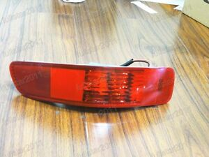1Pcs Left Rear Bumper Reflector Fog Lamp For Mitsubishi Outlander 2007-2013