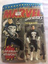 1990 Marvel Super Heroes, THE PUNISHER, w/cap firing guns *NEW*