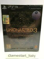 UNCHARTED 3 SPECIAL EDITION - PS3 - NUOVO SIGILLATO VERSIONE ITALIANA - NEW PAL