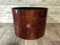 """Vintage Premier Bass Drum Shell 22""""x16"""" Bare Wood Project / Upcycle"""