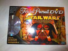 Star Wars Trivial Pursuit DVD Saga Edition Board Game Trivia - 100% Complete