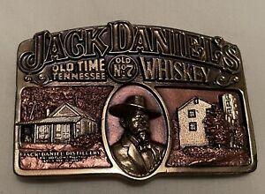 Jack Daniels Bronze Belt Buckle