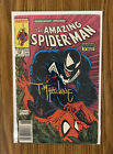AMAZING SPIDER-MAN #316 Newsstand! Signed By Todd McFarlane ! Iconic Venom Cover