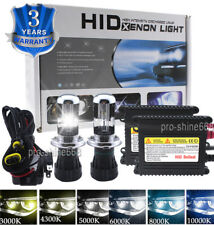 Set Xenon Hid Conversion Kit Bulb 55W 9003 H4 Bi-Xenon For VW Golf Mk1 Mk2 Mk3