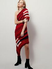 Unspun X Free People Red Sun Sweater Dress NWT $1,200 Sold Out