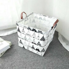 Cube Folding Laundry Basket For Kids Toy Book Storage Basket Sundries Clothes