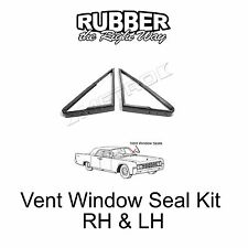 1961 1962 1963 Lincoln Continental Vent Window Seal Kit