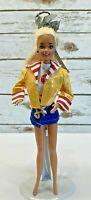"MATTEL BARBIE Doll Blonde Baywatch Lifeguard 3 Piece Outfit 12"" Tall Free Ship"