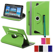 "360 Rotate Universal Case Leather Cover For All ASUS ACER DELL GOOGLE 7"" 10"" Tab"
