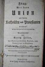 Zeiler - 4 Werke in deutscher Sprache in 1 Band - 1785-1792