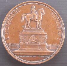 INAUGURATION DE LA STATUE EQUESTRE DE NAPOLEON I à LYON le 21 septembre 1852
