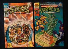 Teenage Mutant NInja Turtles Adventures #19, 20 (1991) 1st Mighty Mutanimals