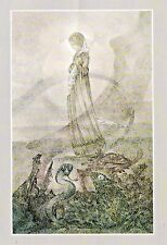Sulamith Wulfing-The Way. Wishing Card.Vintage  FREE INT.SHIPPING