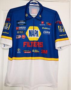 XL DEREK KRAUS Napa Nascar Truck Series Pit Crew Shirt Billy McAnally Toyota