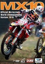 MX10 - WORLD MX CHAMPIONSHIP REVIEW 2010 (2 DVD Set)