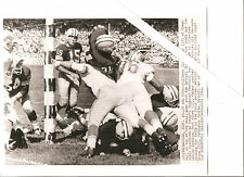'61 Packers Starr Jim Taylor Jerry Kramer Original Milwaukee Co. St. Wire Photo