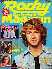 Magazin Rocky 45/1979,Peter Maffay,The Knack,Brooke Shields,Rolling Stones,