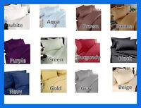 Egyptian Comfort Deluxe 1500 Series Deep Pocket Bed Sheet Set  Full Queen King