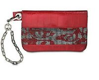 SWAROVSKI  RED CRYSTAL MESH Lambskin Bag 865303  BEST OFFERS CONSIDERED