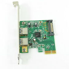 HP SuperSpeed USB 3.0 PCIe x1 interface card 608151-001 607782-001