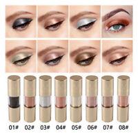 Metallic Shiny  Eyes Eyeshadow Waterproof  Liquid Eyeliner Makeup