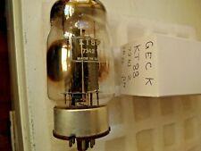KT88 GEC noir plaque K utilisé stock ancien tube valve 1 pc O17A