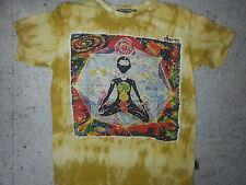 Men T shirt short sleeve Chakra Universe Mandala New Shiva Yoga Om LOVE Sure L