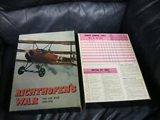 Richthofen's War Board Game Avalon Hill, 1976