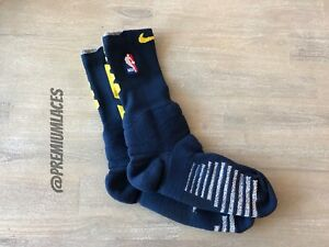 NIKE GRIP POWER NBA CREW SOCKS DENVER NUGGETS TEAM ISSUED PROMO SIZE XXL 15+