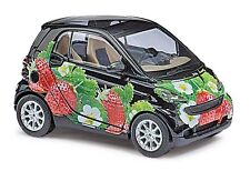 Busch HO 46130 SMART FORTWO 07 »FRAGOLA« # NUOVO IN conf. orig. #