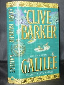 ** Signed ** Clive Barker Galilee First UK Edition 1998