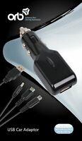 ORB UNIVERSAL USB CAR ADAPTOR CHARGER FOR NINTENDO PSP DSI 3DS 3DXL