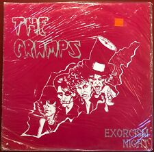 The Cramps Exorcism Night 1979 Live Club 57 NYC UK Pressing