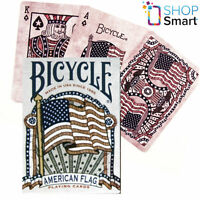 BICYCLE AMERICAN FLAG POKER PLAYING CARDS DECK HERITAGE HISTORY USPCC SEALED