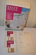 Taste WordProcessing Document Layout Design Program Apple Macintosh Disk VTG 90s