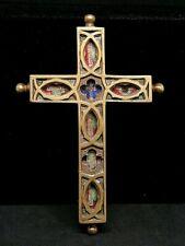 Ancienne grande Croix pendentif reliquaire St Joseph Ste croix St Joachim